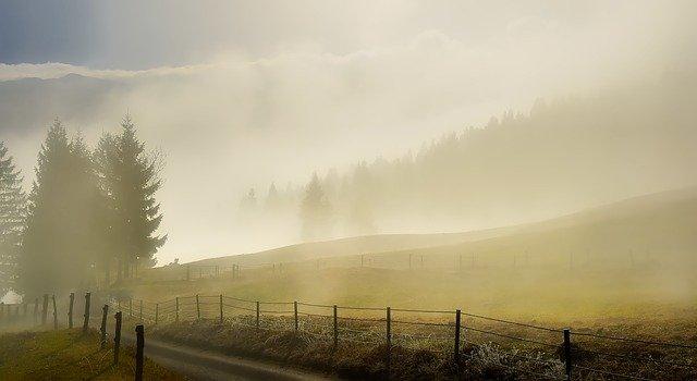 Slovinsko v mlze